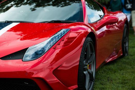 Фото бесплатно Феррари 458, красный, суперкары