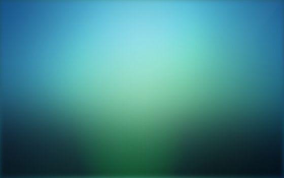 Заставки градиент, размытие, синий и зеленый