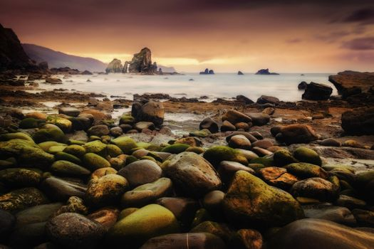 Заставки природа, побережье, скалы