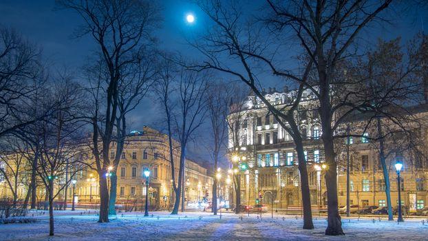 Фото бесплатно Невский проспект, Санкт-Петербург