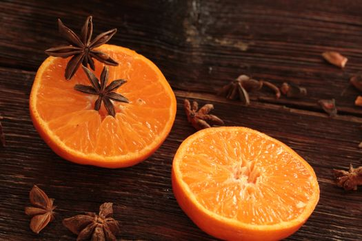 Photo free orange, anise, fruits