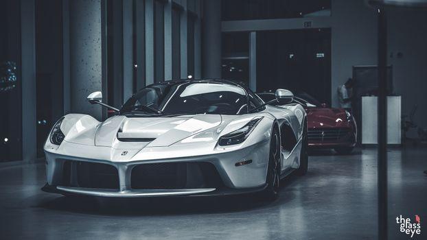 Photo free car, Ferrari, ferrari laferrari