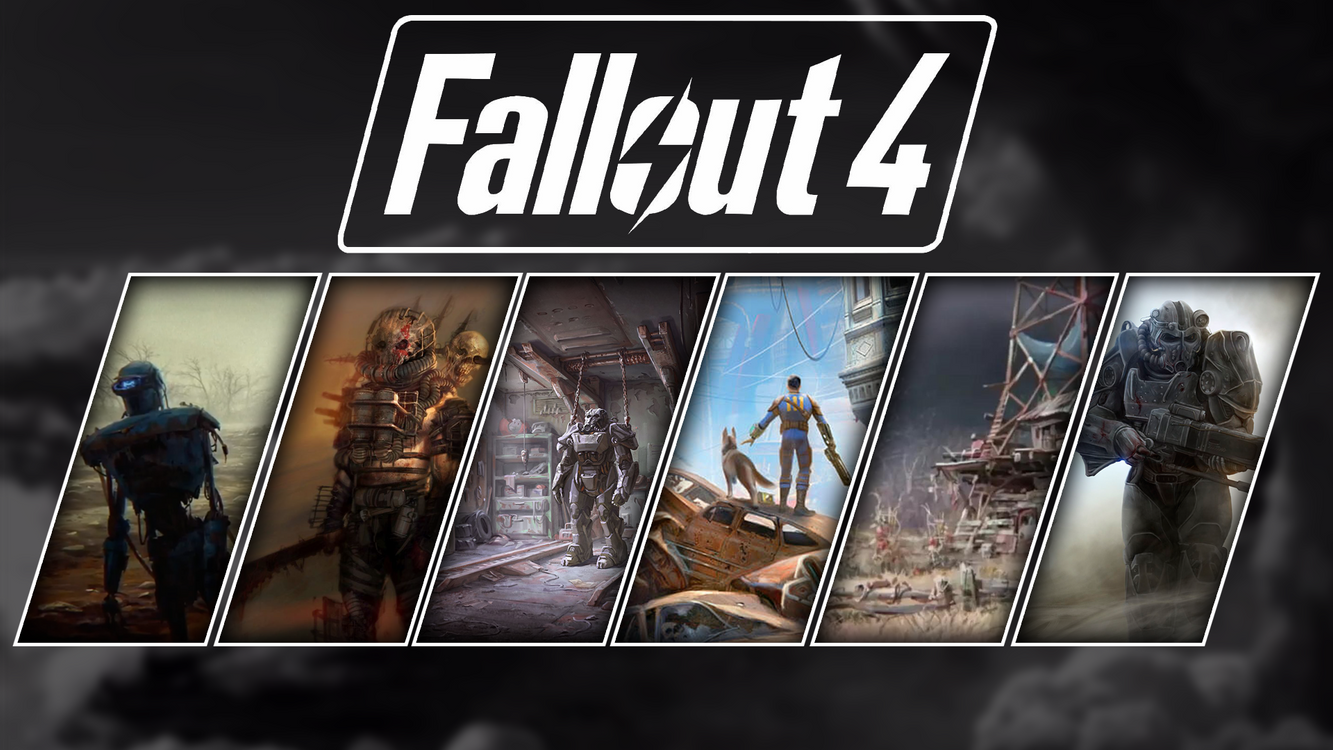 Фото бесплатно fallout 4, fallout, коллаж, видеоигры, игры