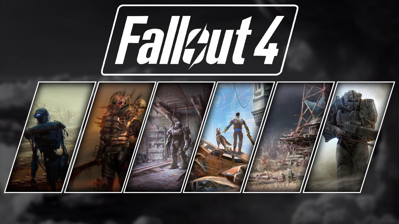 Фото бесплатно fallout 4, fallout, коллаж - на рабочий стол