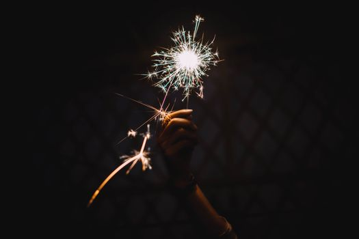 Photo free bengal fire, sparks, holiday