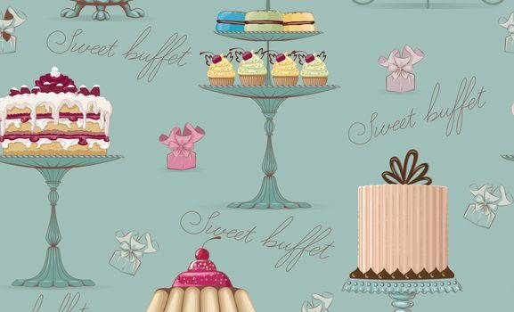Фото бесплатно пирожные, текстура, узор