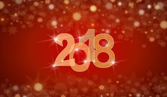 Фото бесплатно новый год, 2018, искусство, new year, art