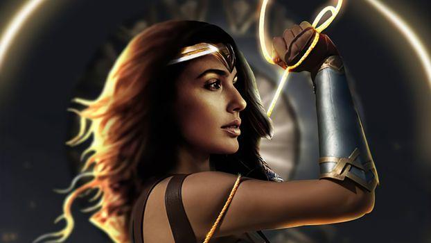 Фото бесплатно Чудо-женщина, супергерои, произведение искусства