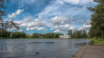Обои The Catherine Park, Tsarskoye Selo, St Petersburg