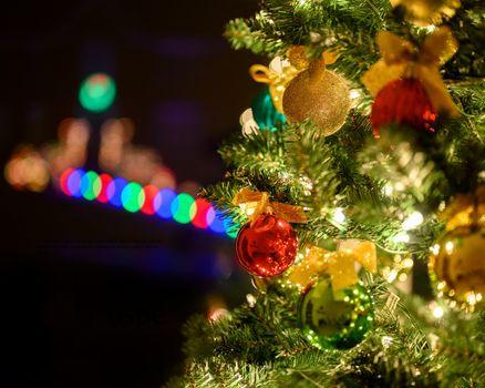 Фото бесплатно новый год, освещение, с новым годом