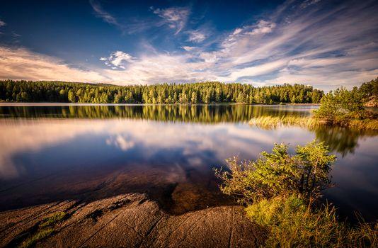Photo free B rum, Norway, lake