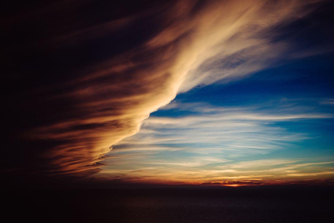 Обои Clouds, природа картинки на телефон