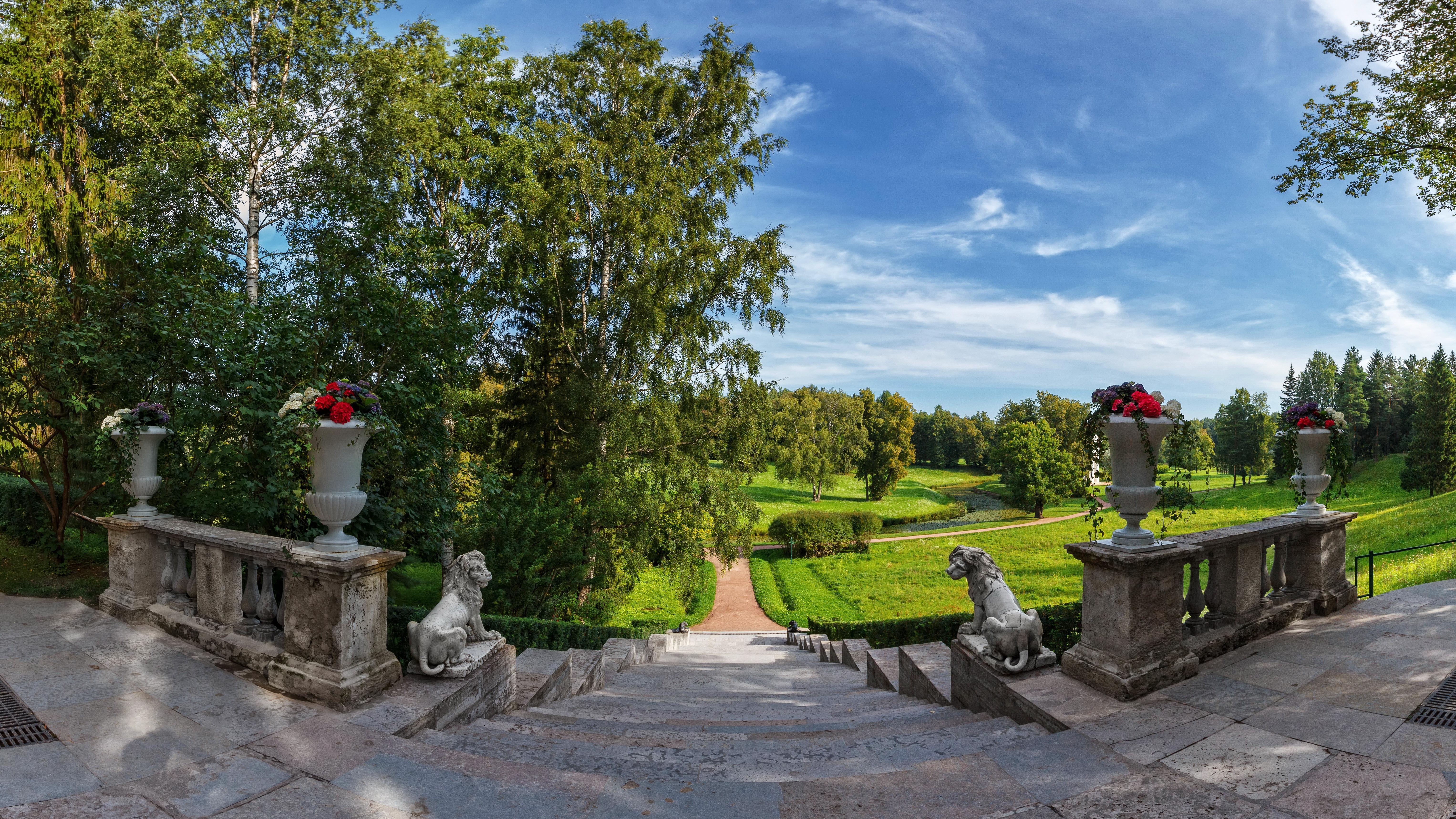 Обои Санкт-Петербург, Павловский Парк, Россия, пейзаж