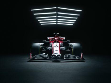 Фото бесплатно Parking, Formula 1, ангар