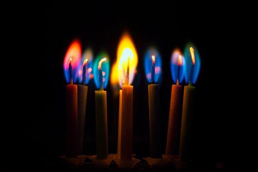 Фото бесплатно огонь, пламя, свечи