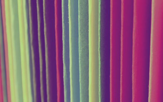 Photo free strips, form, multicolored