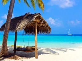 Бесплатные фото тропики, море, пляж, яхта