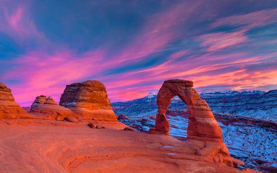Photo free Utah, arch, rocks