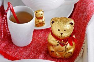 Бесплатные фото мишка,шоколад,chocolate,bear,heart,cup,tea