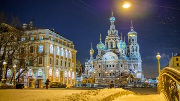 Обои Church of the Savior on blood, Saint-Petersburg