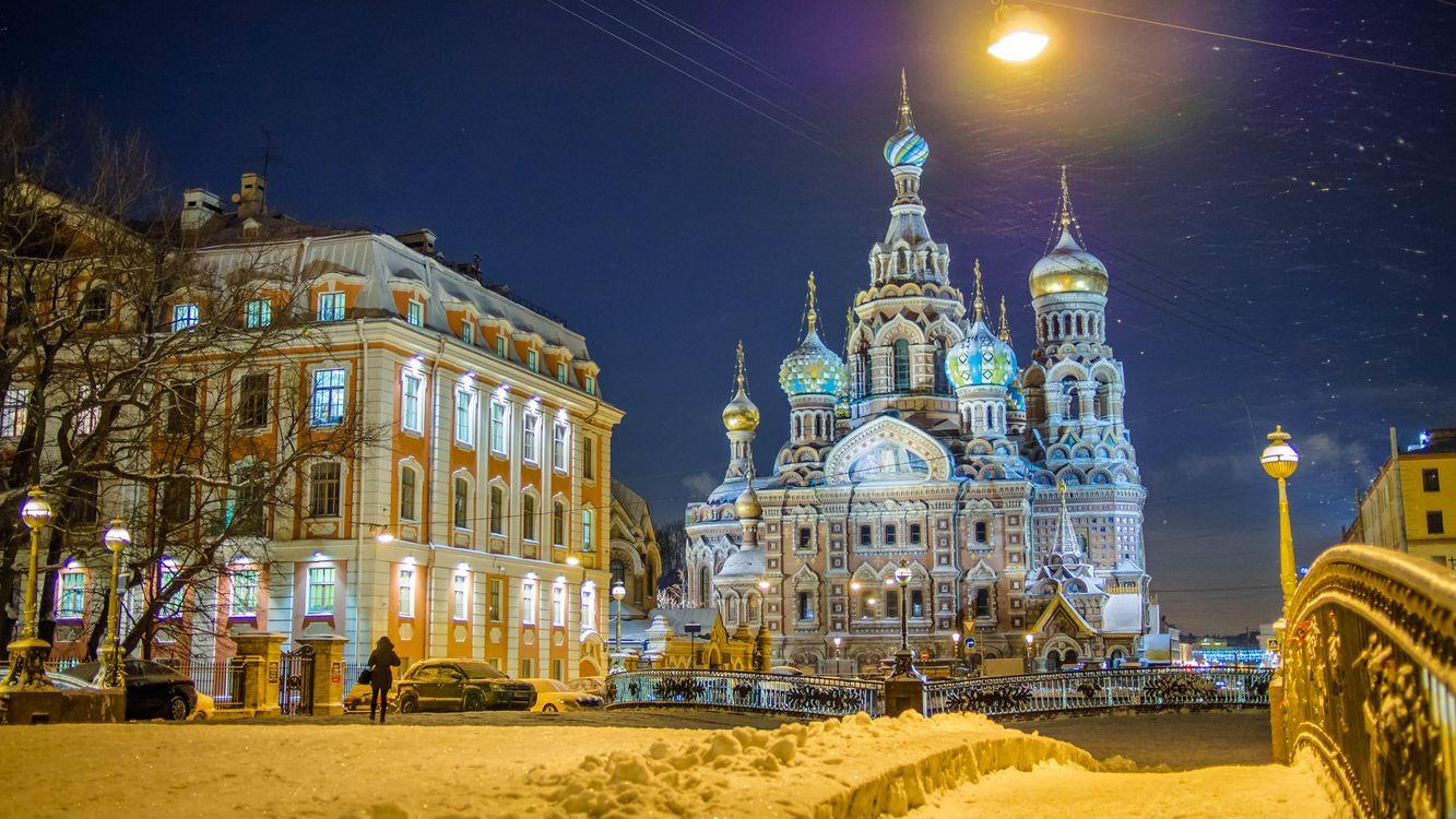 Фото бесплатно Church of the Savior on blood, Saint-Petersburg, город