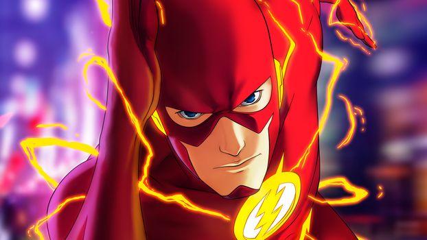 Фото бесплатно Flash, супергерои, Artist
