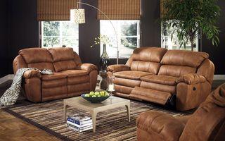 Фото бесплатно дизайн интерьера, кожаные диваны, комната