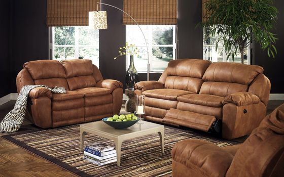 Photo free interior design, leather sofas, room