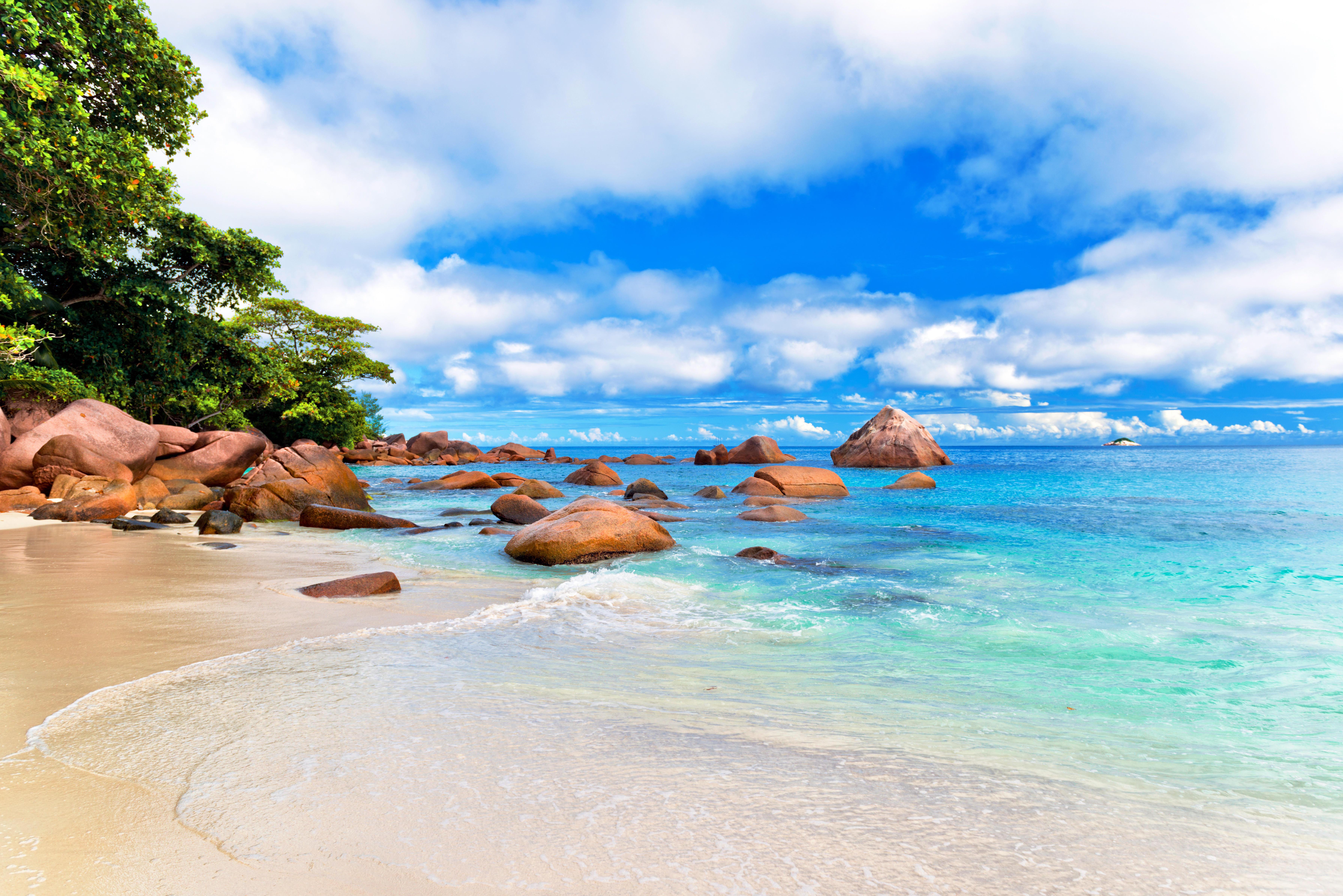 природа море пляж солнце  № 970666 бесплатно