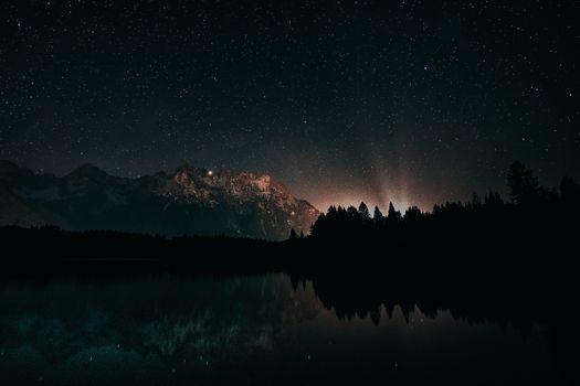 Photo free Astronomy, reflection, stars