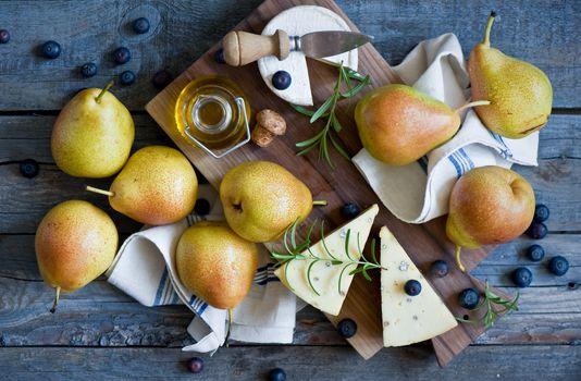 Photo free pears, plant, citrus
