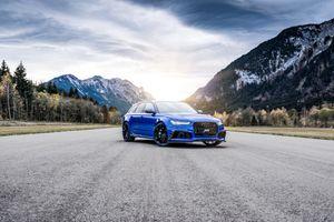 Фото бесплатно голубой автомобиль, автомобили 2018 года, передняя часть
