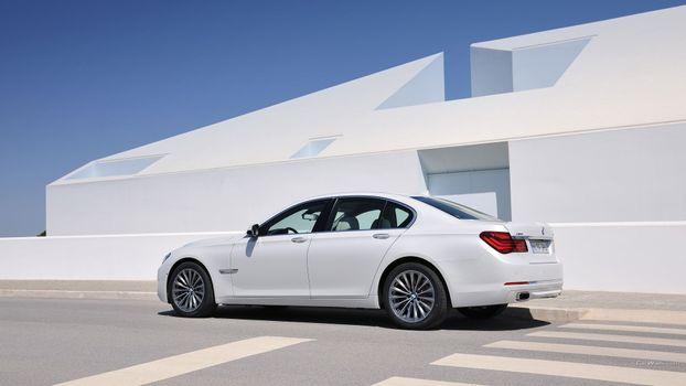 Photo free BMW 7, personal luxury car, mid size car