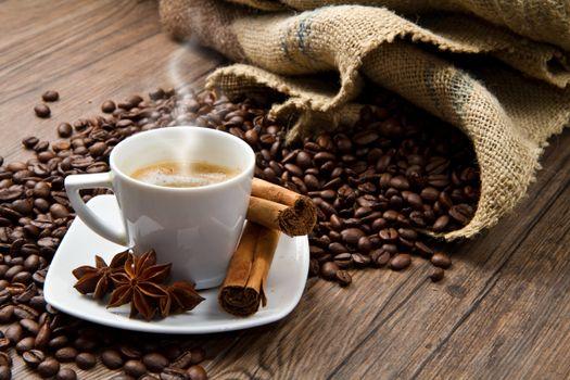 Photo free coffee, corn, cup