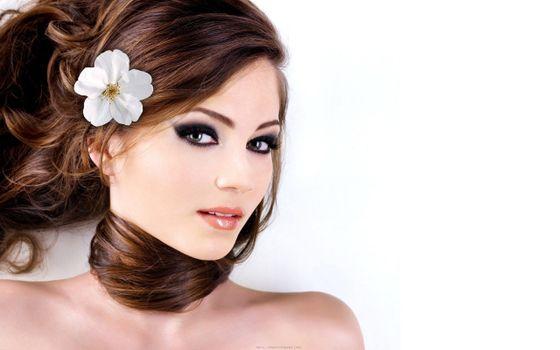 Photo free long hair, fashion accessory, model