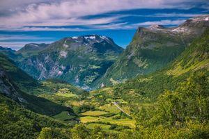Фото бесплатно Гейрангер, Гейрангерский фьорд, Норвегия