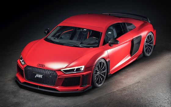 Photo free red, Audi R8, cars