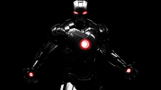 Фото бесплатно иллюстрация, тьма, супергерой
