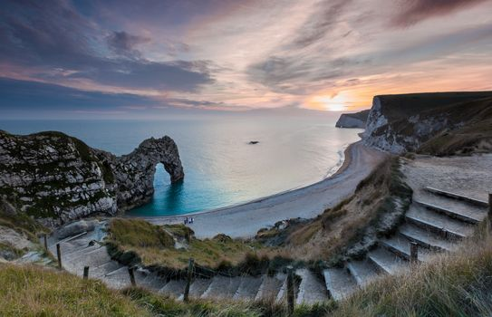 Photo free Durdle Door, the Jurassic coast, Dorset