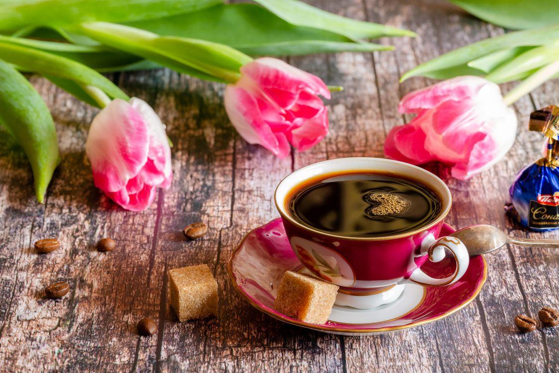 Чашка кофе чёрного