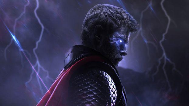 Photo free artist, digital art, Thor
