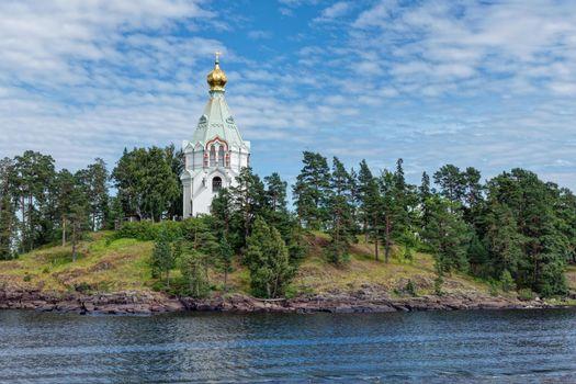 Фото бесплатно Валаам, пейзаж, скит во имя святителя Николая Чудотворца