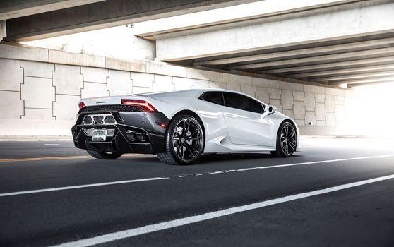 Фото бесплатно Lamborghini Huracan, Lamborghini, автомобили