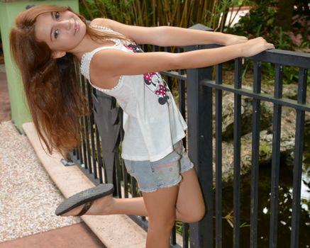 Фото бесплатно взаимодействие, красота, джинсовая ткань