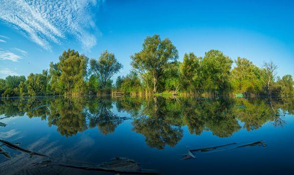 Фото бесплатно река, место отдыха, деревья