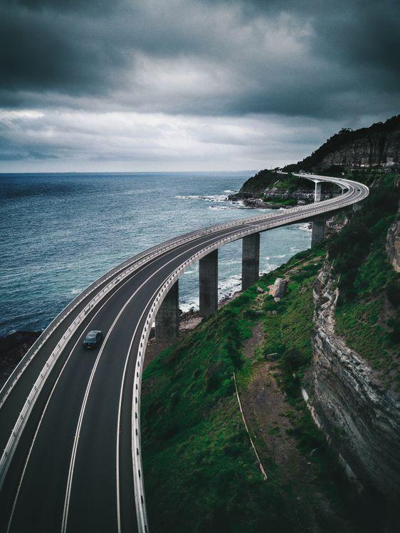 Мост через реку · бесплатное фото