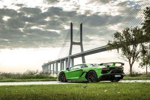 Фото бесплатно Lamborghini Aventador SVJ, Ламборгини Авентадор, автомобили