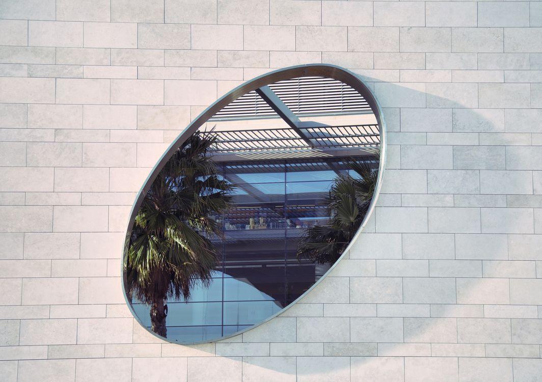 Фото пальмы окно здание - бесплатные картинки на Fonwall