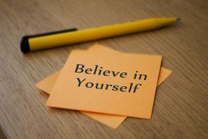 Верь в себя · бесплатное фото