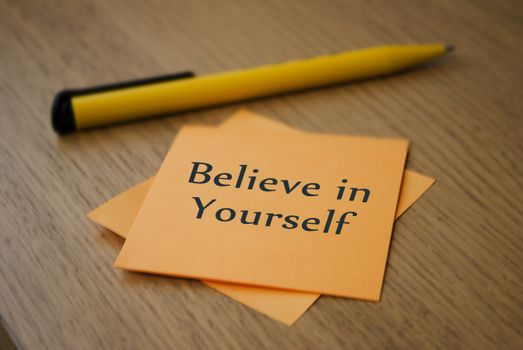 Believe in yourself · free photo